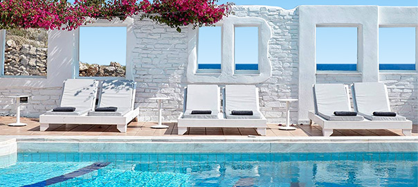 Kleinschalig hotel Mr en Mrs White Mykonos