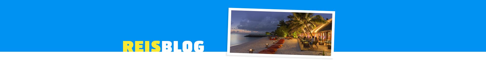 Romantisch uitzicht op het strand