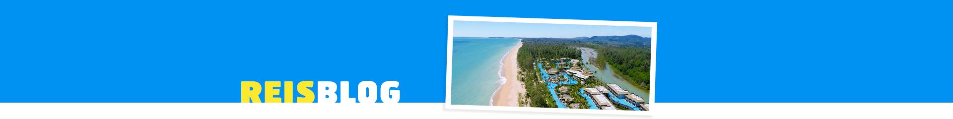 Uitzicht strandhotel in Thailand