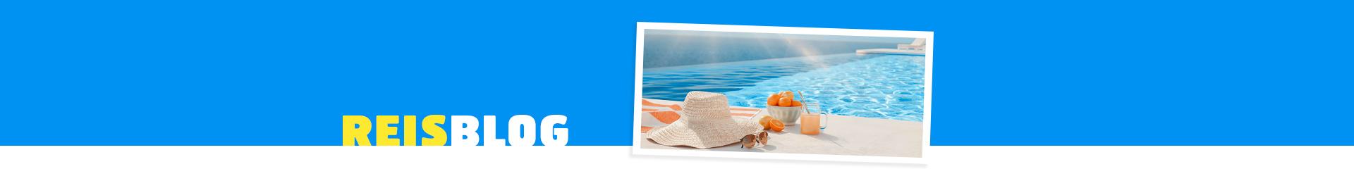 hoed bij zwembad